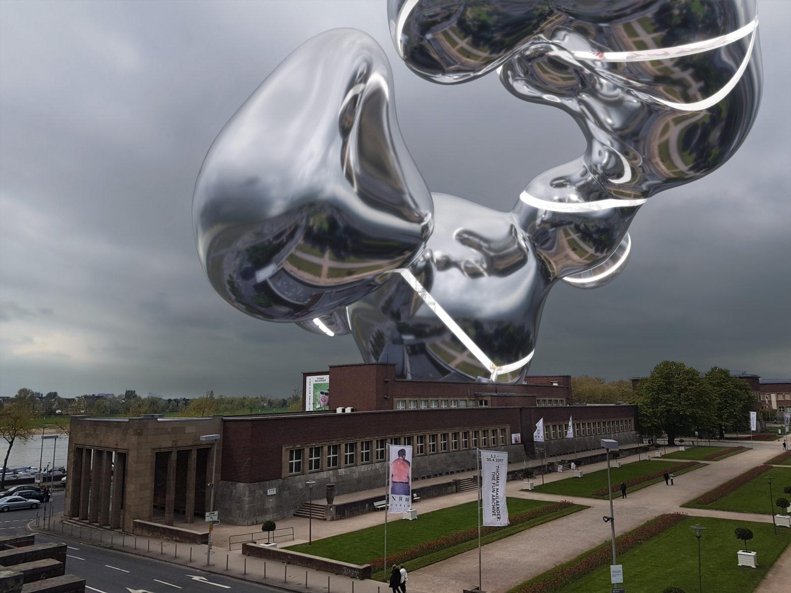 NRW-Forum Extension, Main Image